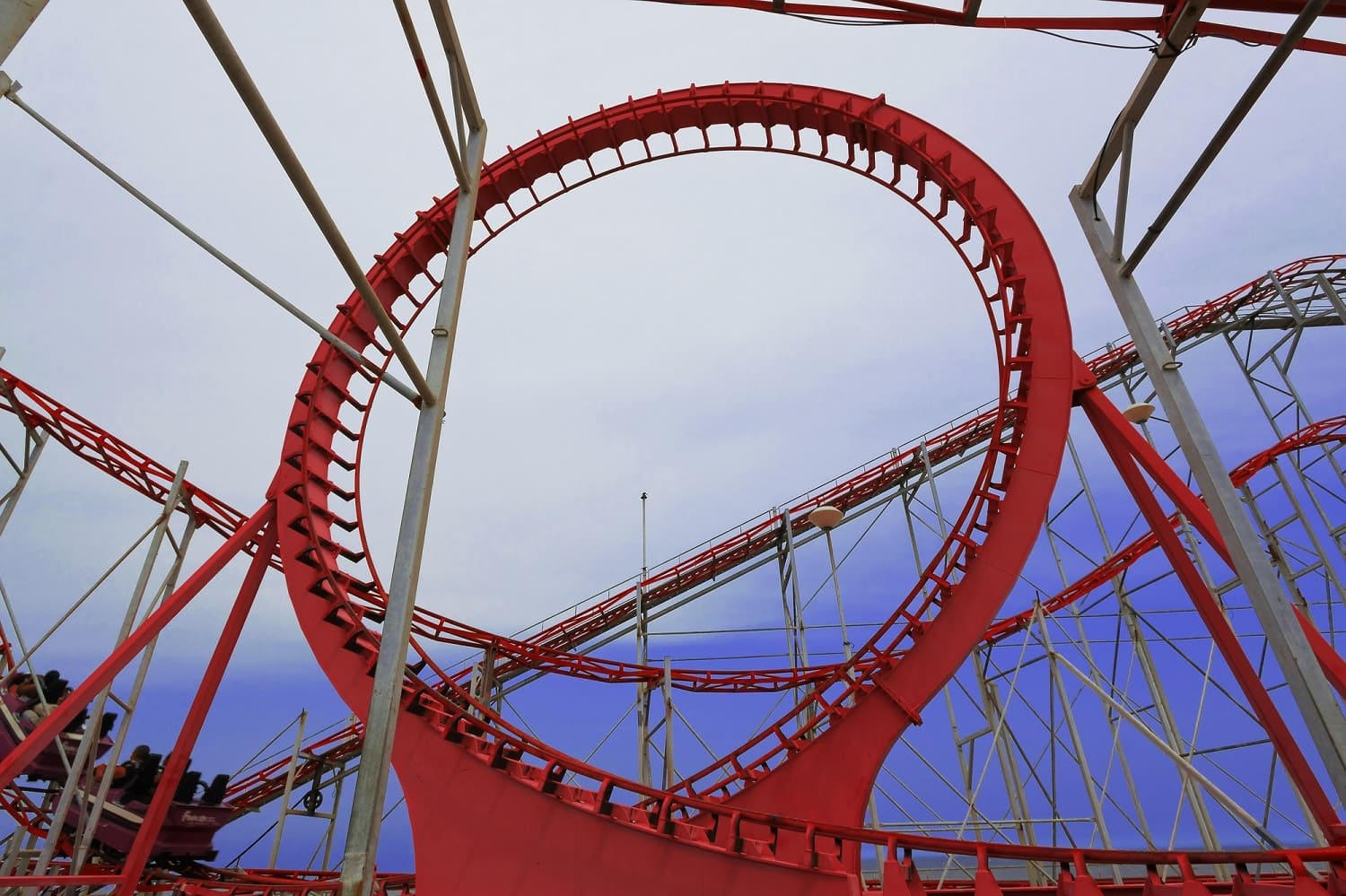 Roller coasters: evolution of screaming machines